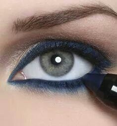 Delineador azul marino