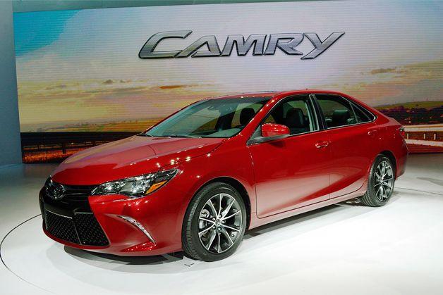 2015 Toyota Camry has 'sweeping redesign' [w/poll] via AutoBlog