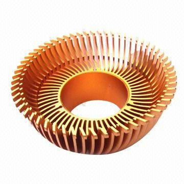 Copper LED Heat Sink of CNC Lathe Machined