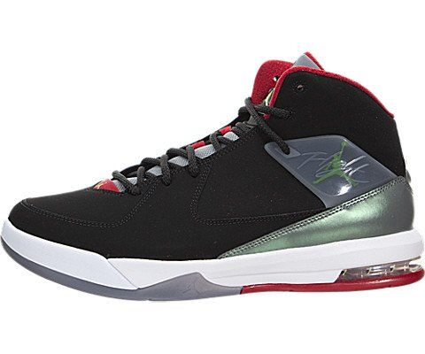 nike air jordan air incline mens hi top basketball trainers 705796 sneakers  shoes us 105 black green pulse cool grey gym red 013     See this great  product. 666563123