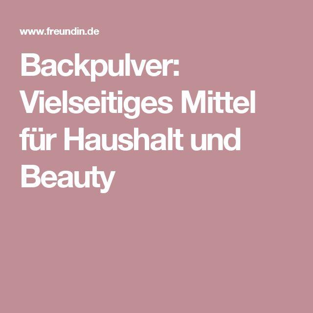Backpulver: Vielseitiges Mittel für Haushalt und Beauty