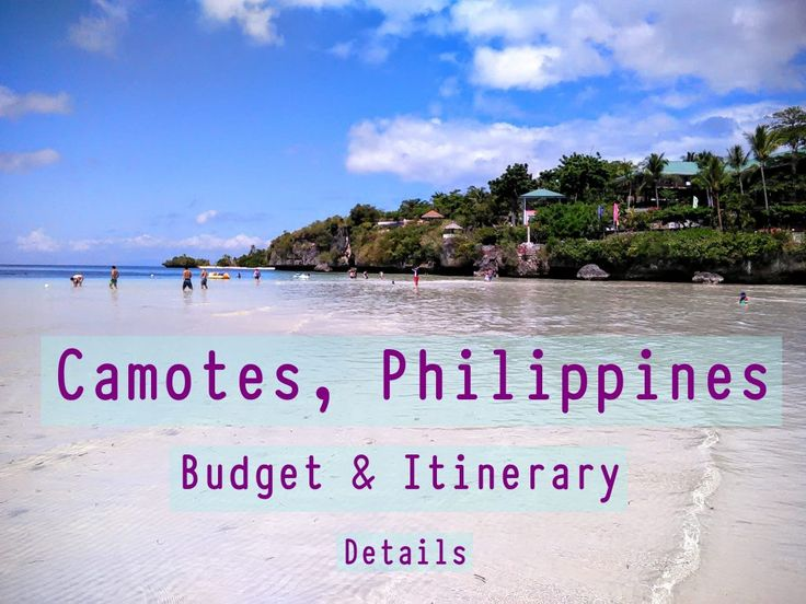 Camotes budget and itinerary details (Philippines) Details here…