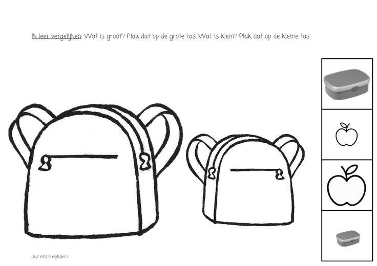 boekentas groot en klein