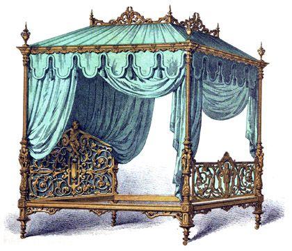 Die besten 25 viktorianische schlafzimmerm bel ideen auf pinterest gothic - Gothic einrichtungsideen ...