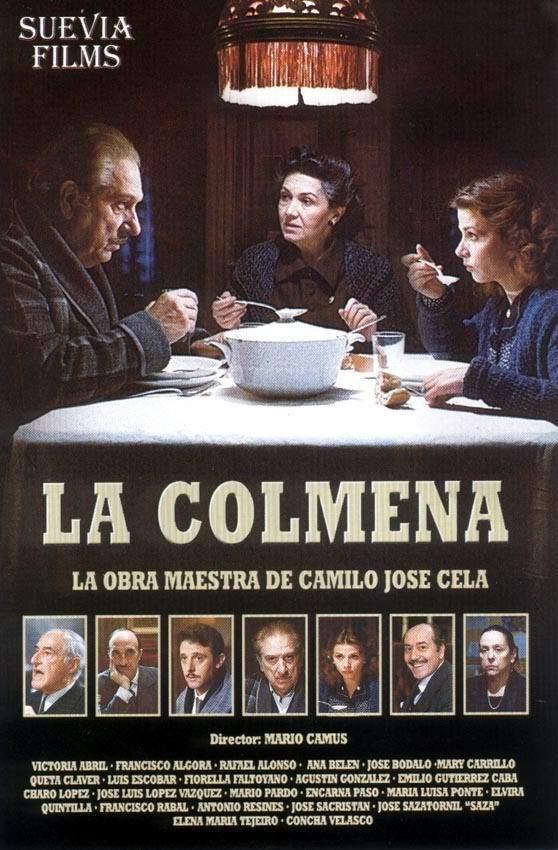 """DVD CINE 2086 - La colmena (1982) España. Dir.: Mario Camus. Drama. Sinopse: a historia iníciase, e continúa ás veces, no café """"A Delicia"""", que está sempre repleto de persoas que foxen do frío, que se refuxian na charla, na compañía, e nos soños. Son un torrente de xentes que ás veces son felices, e ás veces, non. Tras eles, como fondo, a paisaxe urbana do Madrid da posguerra, tan especial, tan distinto, tan sórdido, tan luminoso ás veces."""