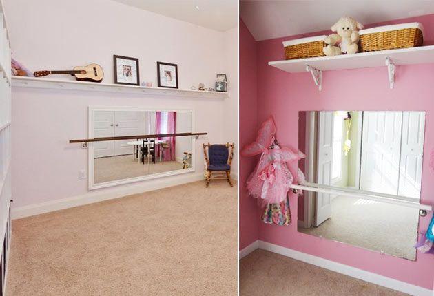детская для девочки балерины | http://www.babyroomblog.ru/