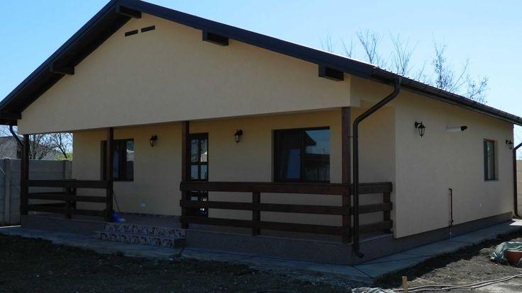 Modele case lemn, la cheie   constructia casei de la Dragomiresti Vale, ...
