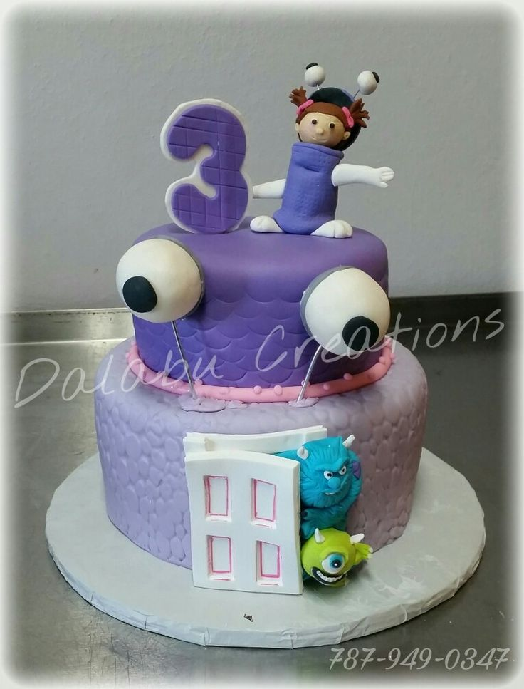 Monster Inc Cake