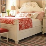 white bedroom furniture White can also update older pieces and by being all one color it takes away from the ornate and makes it look clean.