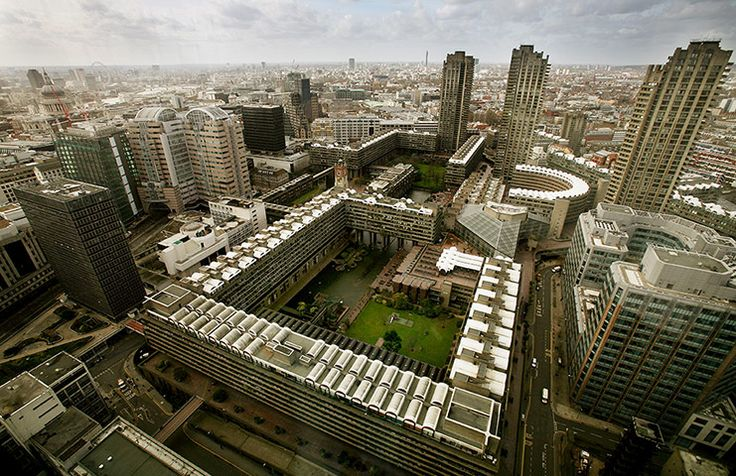 The Barbican Centre & Guildhall School as featured in The Guardian's photo gallery celebrating the building's 30th birthday