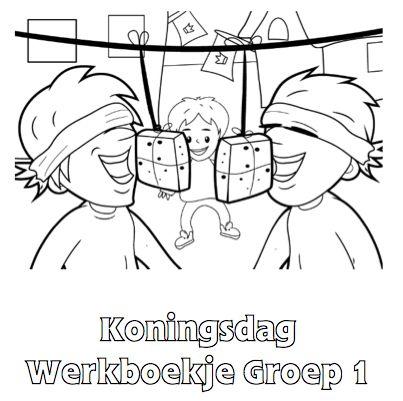 Koningsdag Werkboekje Groep 1