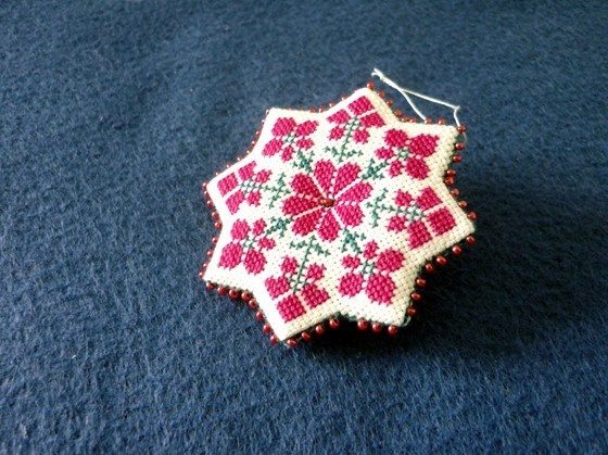 Octagon Star Ornament