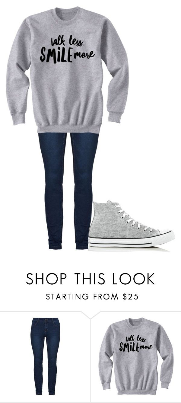 """""""Untitled #194"""" by cruciangyul on Polyvore featuring Converse"""