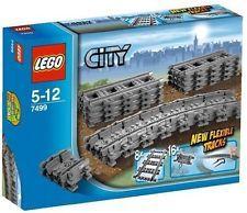 Lego 7499 City Train Flexible Tracks Set - New, Sealed