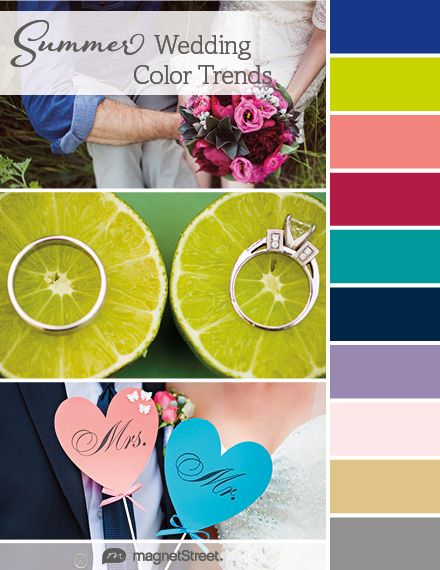 Top 2018 Wedding Color Trends: Spring, Summer, Fall ...
