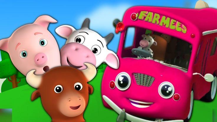 Roues sur le bus | Chanson enfantine | Rimes pour bébés | Kids Nursery R...Hé les enfants! Les roues sur le bus est une rime de crèche amusante qui prend tout vous petits enfants en bas âge sur une aventure amusante tout au long de la ville! Êtes-vous petits tout-petits excités? Ensuite, regardez la vidéo au-dessus de petits tout-petits et amusez-vous avec les roues sur la rimeuse de l'autobus! #FarmeesFrancaise #Wheelaonthebus #enfants #comptine #éducatif #bébés #préscolaire #kidsvideos