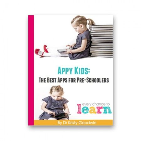 This eBook has been written by a children's brain and technology researcher (and mum!) and lists the best apps for pre-schoolers.
