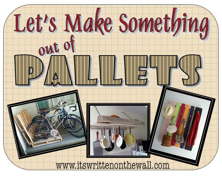 It's Written on the Wall: Amazing Projects Using Wood Pallets-Yeah, You've Got This!Big Hit, Amazing Projects, Pallet Projects, Crafty Things, Wood Palletsyeah, Wood Pallets Yeah, Pallets Ideas, Pallets Projects, Lemon Bar