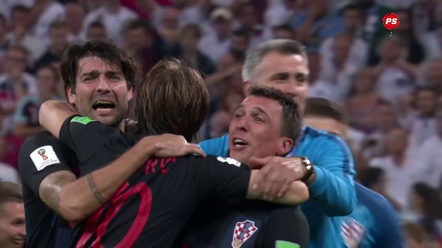 Croatia Knock Over Every Blade Of Grass As They Beat England 2 1 In The Semi Finals Of The With Images Football Transfer News Football Transfers Match Highlights