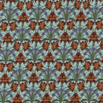 Robert Kaufman Fabrics: EY-4816-5 ANTIQUE from Jardin Nouveau