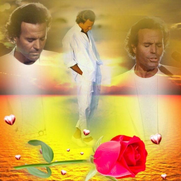 JULIO IGLESIAS WITH YOUR GRAND HEART FOR HUMANITY