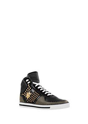 Versace - Signature High-Top Sneakers