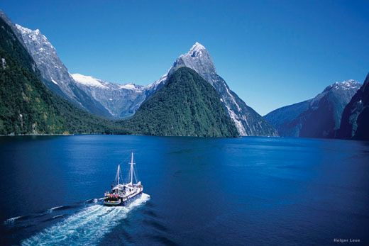 Sailing in the Fiord