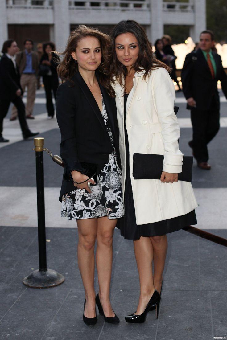 Natalie Portman  with Mila Kunis