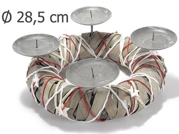Candelabri, portacandele, un tocco di luminosità alla tua casa , alla tua tavola natalizia. http://www.idea-piu.com/store/1/portacandele-1056