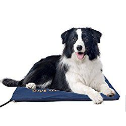 Namsan Pet Heating Pads for Pets with Chew Resistant Cord and Soft Removable Cover