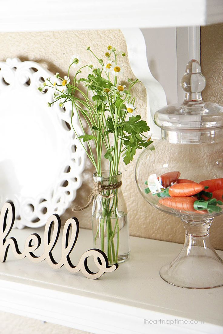Spring decorating ideas I Heart Nap Time   I Heart Nap Time - How to Crafts, Tutorials, DIY, Homemaker