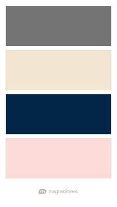 champagne and navy blue wedding colors - Google Search