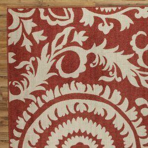 Brick Red Outdoor Carpet