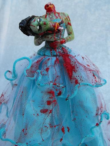 Zombie prom queen barbie