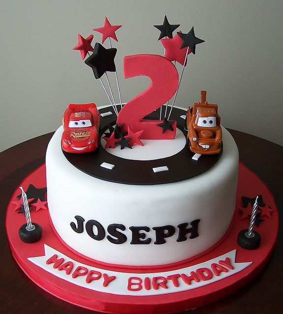 Best Cakes Cars Images On Pinterest Car Cakes Cars Birthday - Birthday cake cars 2