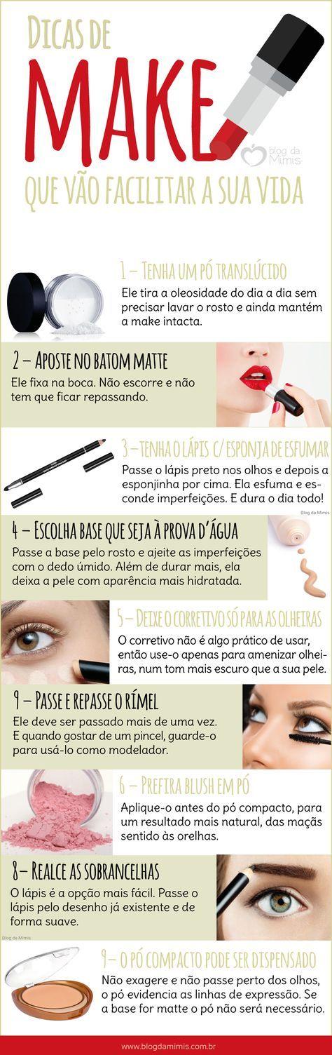 Dicas de maquiagem que vão facilitar a sua vida - Blog da Mimis #tips #make #makeup #automaquiagem #maquiagem
