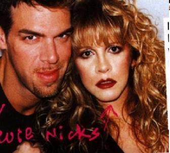 Stevie ~ ☆♥❤♥☆ ~   with the late great makeup artist Kevyn Aucoin  with Stevie ~  https://en.wikipedia.org/wiki/Kevyn_Aucoin