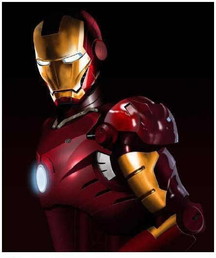 """IronMan, created for """"Times Square."""""""