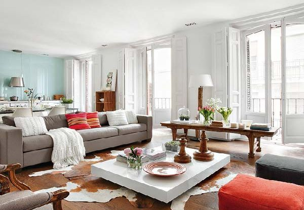 Interesting Vintage Chic Decorating Ideas In Modern Vintage Interior Style Of The Spanish House Decorating Ideas