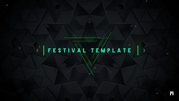 New Template! Music Festival #FCPX & #Motion5 Template arrived! - www.motionvfx.com/N2226 #FinalCutProX #VideoEditing #Apple #Design