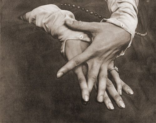Hands (of Helen Freeman), c1920 (photogravure) - Photographer: Alfred Stieglitz, USA