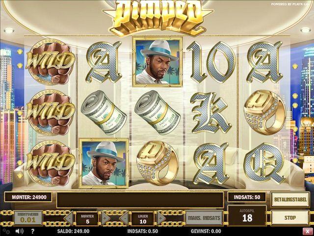 De fem hjul i spilleautomaten bliver fyldt ud af 10 normale gevinstsymboler, der er meget tro til den meget pimpede spillemaskine.  http://www.spillemaskineronline.com/pimped-videoautomater/