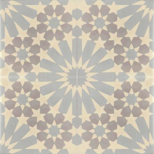 Moroccan Encaustic Cement Pattern Pre Sealed gr12