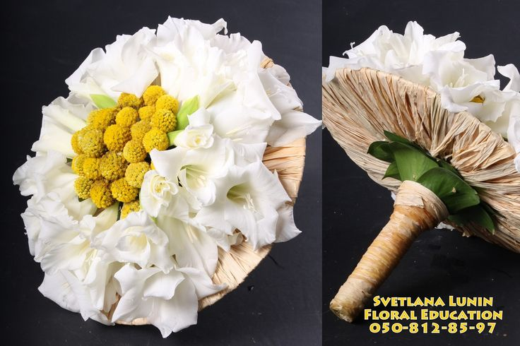 Professional floral design course of Svetlana Lunin (beginners
