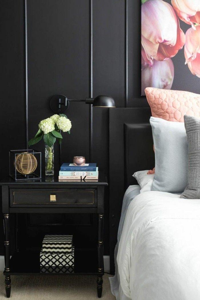 Die besten 25+ Schwarze Schlafzimmermöbel Ideen auf Pinterest - nachhaltige und umweltfreundliche schlafzimmer mobel und bettwasche