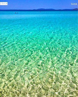 愛琴海的海水正藍!@伊茲密爾/俄勒額加。 ©ucakyolcusu