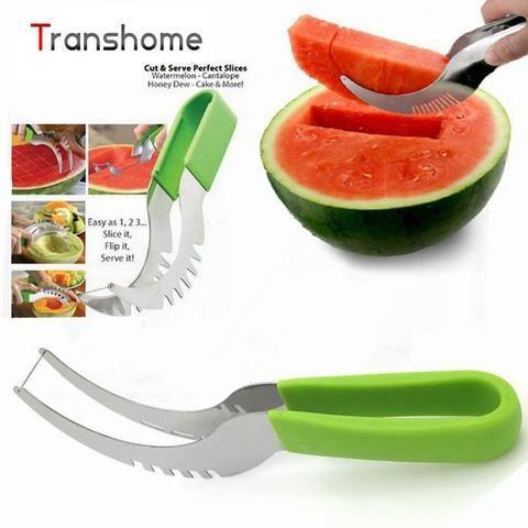 Hot Sale Stainless Steel Watermelon Slicer Corer Melon Smart Slicer Knife  For Watermelon Fruit Slicer Kitchen Accessori