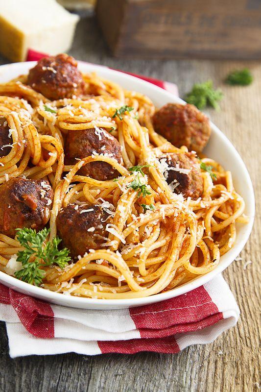 Рецепт идеальной пасты с мясными шариками! - Home is in the kitchen