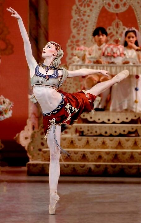 Love the colors & shapes on this costume... Arabian ballet dancer nutcracker
