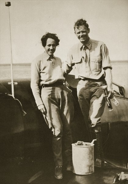 Charles Lindbergh and Anne Morrow Lindbergh